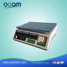Balance électronique de pesage de prix numérique de 30kg avec l'affichage à LED