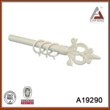 A19290 paint metal wrought curtain rod finial,decorative curtain rod accessories,curtain rod set
