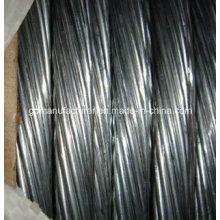 Hilo de alambre de acero galvanizado recubierto de zinc caliente