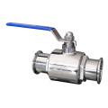 Válvula de esfera sanitária de grau alimentício pn10