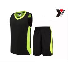impressão de cor de sublimação 4 personalizar o projeto de basquete jersey