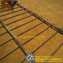 Malla de alambre soldada de doble lazo ornamental