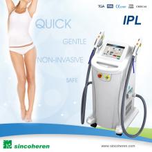 2016 Новая модернизированная shr и IPL быстрая машина удаления волос