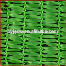 100% HDPE vela de sombra solar / vela de sombra de polietileno / jardim ao ar livre rede de sombra solar