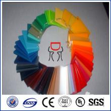 Feuille acrylique en fonte colorée pour barrière sonore Feuille PMMA