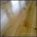 Rustikaler weißer Eiche-fester Bauholz-Bodenbelag