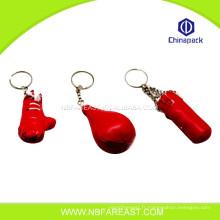 Porte-clés de boxe personnalisé en manufature en gros