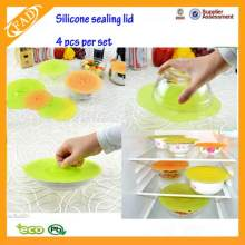 Silicone Bowl Lids Seal Food Covers for Bowls
