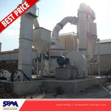 Gypse, moulin à grenade à l'application de kaolin pour l'Algérie