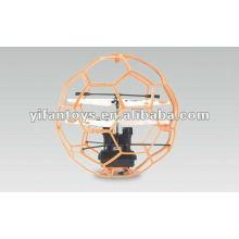 2 canales infrarrojos de control de vuelo de fútbol / balón con giroscopio 6042B