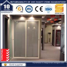 Внутренний / Внешний Патио Алюминиевые / Алюминиевые Раздвижные Защитные стеклянные двери