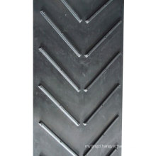 Chevron Conveyor Belt With Open V Type Profiles