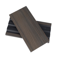 M Shape Half Solid Co-Extrusion PE Shield Wooden Grain Surface Deep Embossing Anti-Rotten WPC Outdoor Deck Composite Floor Board