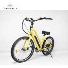 48В 500Вт легкая езда мадин электрический велосипед в Китае/электрический пляж крейсер велосипед оптом