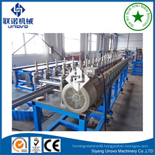 rollform gate type metal shutter slat molding machine