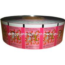 Película de envasado de caramelos / Película de rollos de caramelos / Película de caramelos de plástico