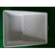 "7 ""White Virgin Material Paint Tray"