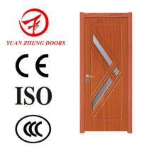 Projetos de porta de madeira do perfil da porta de PVC feitos na China