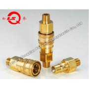 Lsq-S8 Medium-Pressure High Performance Pneumatic and Hydraulic Quick Coupling (BRASS)