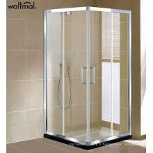 Enceinte de douche italienne en aluminium