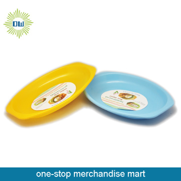 Colorful Plastic Plate