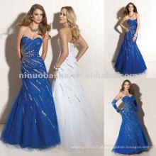 NY-2353 vestido de quinceanera de design novo com contas