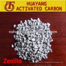 1-2 mm Gran tratamiento especial de aguas residuales zeolita natural