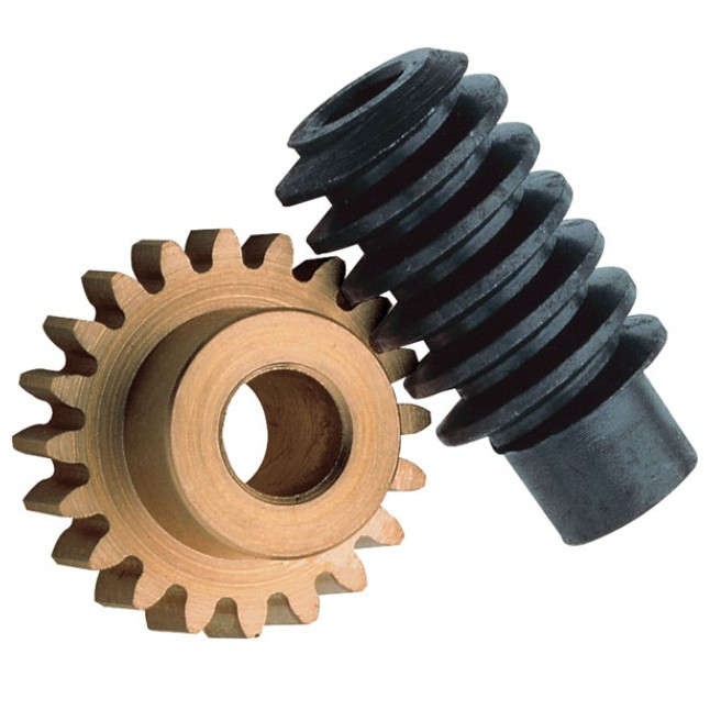 Power Transmission Mechanical Brass Worm Gear and Shaft