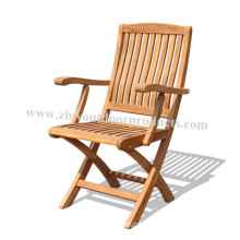 Outdoor Shop Garden Furniture Set Wooden Folding Chair