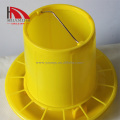 yellow Poultry equipment pan feeder