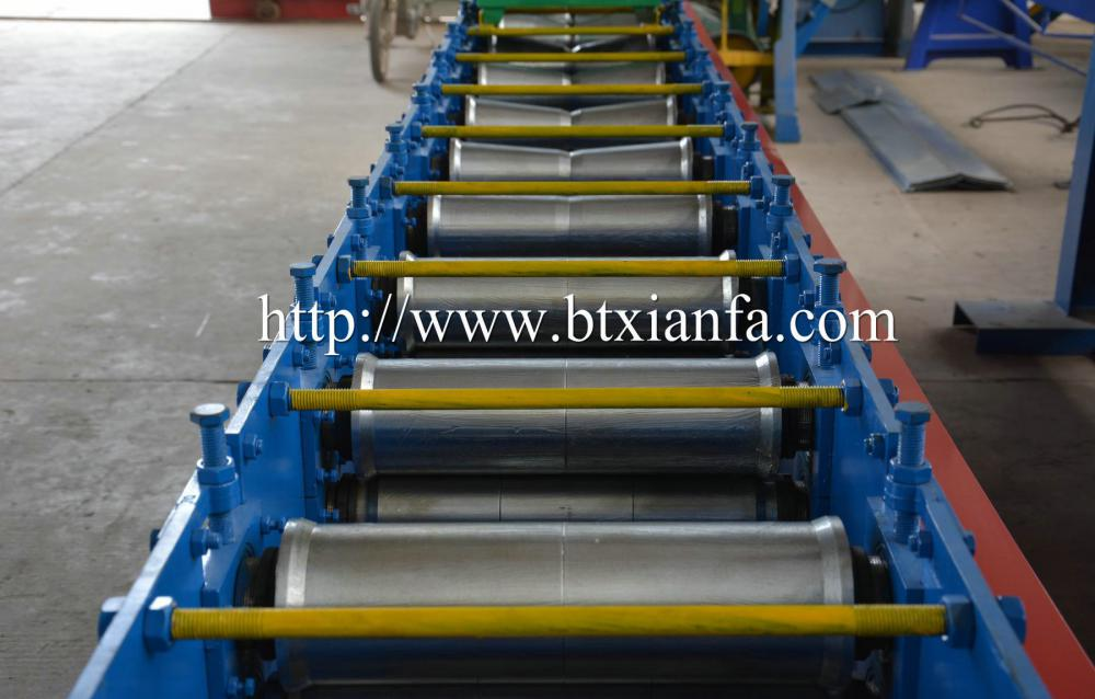 Steel Roof Ridge Capping Machine