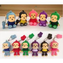 Cute Monkey USB 2.0 Flash Drive Customized 3D USB Stick