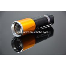 Lampe de poche à gradateur de zoom, lampe de poche ronde led, 9 lampe de poche led