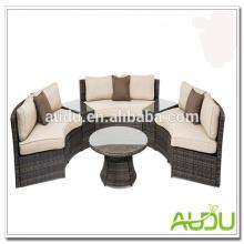 Audu Ratttan Wicker Outdoor Circular Sofas