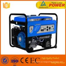 Venda quente saída AC ar refrigerado 2.8kw gerador a gasolina com DC 12V 8.3 saída