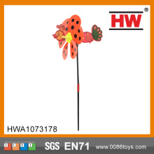 Outdoor Kids Dot 3D Animal Insect Mini Windmill Toy