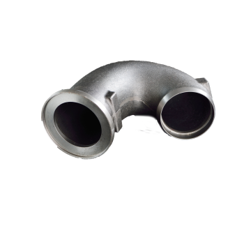 Sand Casting Components Metal Alloys Car Exhausting Pipe