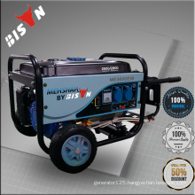 BISON(CHINA) Gasoline Gas Double Use Biogas Nature Gas Generator