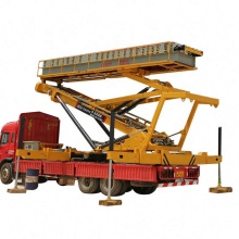 Mobile Hydraulic Lifting Raising Platform Used For Roofing Machine Sale