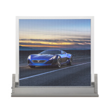Indoor and outdoor LED transparent glass screen display