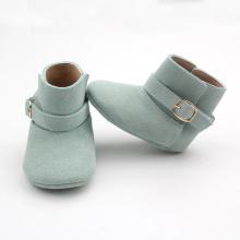 Pergelangan Kaki Warna-warni Kulit Asli Sepatu Bayi