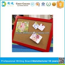 framed cork board cork board with photo frame                                                     Quality Assured