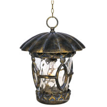 Classic Outdoor Hanging Pendant Lights Bronze Finished With Water Glass Droplight Ip65