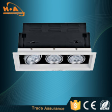 Hot venda & preço barato três 3X1w de cabeças LED luz de grelha