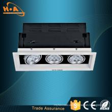 Ce RoHS aprobó la alta iluminación de la parrilla LED CRI Ra80 COB