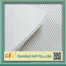 Tissu en mousse 100% Tissu en polyester pour vêtement