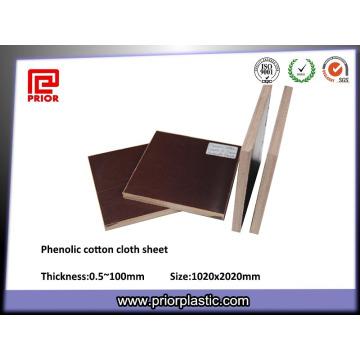 Феноловая Бумажная ткань листа основанного на механических запасных частей