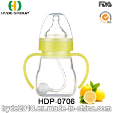 Biberon en plastique sans BPA de 150ml nourrissant (HDP-0706)