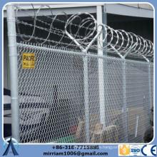 China Großhandel 60 * 60mm Mesh GBW Kette Link Zaun