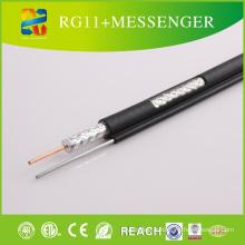 2015 Xingfa Fabriqué Rg11 avec Messenger Coaxial Cable